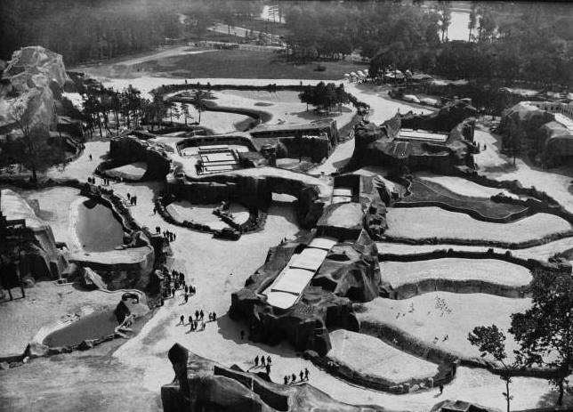 Paris Zoo in 1934